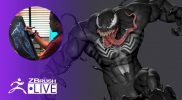 Create Venom in ZBrushCORE #withme! – Mike Thompson – Part 3