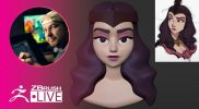 Turn 2D into 3D #withme! – Shane Olson – ZBrush 2021.5