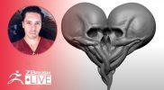 Create Valentine Skulls #withme! – Oscar Trejo – ZBrush 2021.5