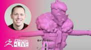 No Spare Time with SMAARTIST – Stephen Anderson – ZBrush 2021.5