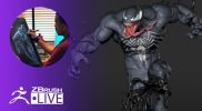 Mike T Artworks: Sculpt Venom #withme! – Mike Thompson – Part 5