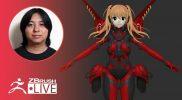 [JA & EN] ZBrush 2021.6 でメカ娘を作る- Pixologic Daisuke Narukawa – Part 3