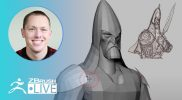 Create a Medieval Character #withme! No Spare Time with SMAARTIST – Stephen Anderson – ZBrush 2021.6