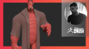 Hellboy – Sculpting Easy-Peasy with Paul Deasy – ZBrush 2021.6