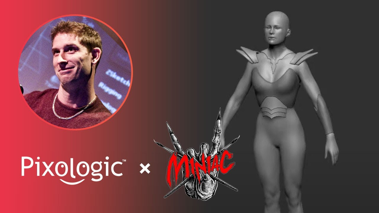 How to 3D Print & Paint Miniatures – Pixologic Paul Gaboury x Miniac – Part 3