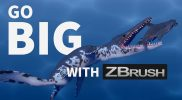 Did You Create a Shark?  Let's Go Bigger With ZBrush! – ZSpheres in Action