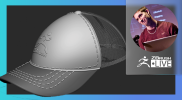 Create a Baseball Cap in Minutes: How It's Made – Pixologic Paul Gaboury – ZBrush 2021.6