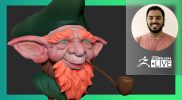 Create a Leprechaun #withme! – José Rosales – ZBrush 2021.6