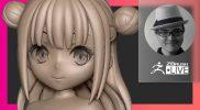 [JA] 3Dプリント用キャラクターの作り方 – Sakaki Kaoru – ZBrush 2021.6