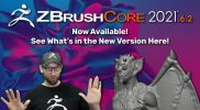 ZBrushCore 2021.6.2 – New Version! – Special Event Stream
