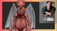 Sculpting Toys with 3D Printing in Mind: Hybrid Creature – Ian Robinson – ZBrush 2021.6