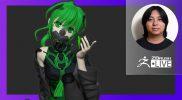 Making a Cyborg with Mantis Blades – Pixologic Daisuke – ZBrush 2021.6