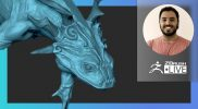 Creature & Character Concepting for Production: Frog Creature Part 8 – José Rosales – ZBrush 2021.6