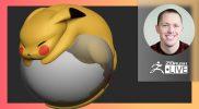 Create Pokémon Pikachu #withme !- Stephen Anderson – ZBrush 2021.6