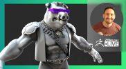 Pavlovich Workshop: Bebop Ninja Turtles Fan Art – Michael Pavlovich – ZBrush 2021