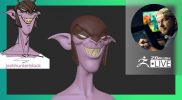 """Sculpting Stylized Characters – Shane Olson: """"Sharp-Toothed Dood"""" – ZBrush 2021.6"""