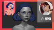 [RU] Создание стилизованных персонажей: Female Character Design – Olya Anufrieva – ZBrush 2021.6