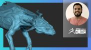 Creature & Character Concepting for Production: Frog Creature Design – José Rosales – ZBrush 2021.6