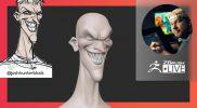 Sculpting Stylized Characters: Joker DC Comics Fan Art – Shane Olson – ZBrush 2021.6
