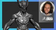 Digital Marathon: Original Robot Design – Deryck Pelegrini – ZBrush 2021.6 (6-17-21 Part 2)