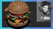 ZBrush Guides: Make it Happen in ZBrush! Cheeseburger Edition – Pablo Muñoz Gómez – ZBrush 2021.6