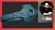 Sculpting, 3D Printing, & ZBrush 2021.6 – T.S. Wittelsbach