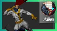 Mike T Artworks: Illustration by the Way of Sculpture: X-Men Cyclops – Mike Thompson – ZBrush 2021.6
