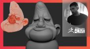 Sculpting Easy-Peasy with Paul Deasy: Stylized Old Man Character Design – ZBrush 2021.6