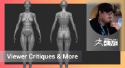 Enter the ZBHO Dojo: Anatomy Lessons & Viewer Critiques – Spicer McLeroy – ZBrush 2021.6