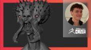 Organic Character & Creature Sculpting: Empusa From DmC 5 – Luc Tschopp – ZBrush 2021.6