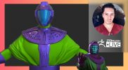Creature & Character Creation: Marvel's Kang the Conqueror Concept – Oscar Trejo – ZBrush 2021.6