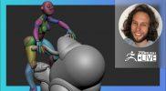Digital Marathon: Space Coffee and Girls – Deryck Pelegrini – ZBrush 2021.6