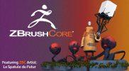 """Kubo"" Time-lapse Sculpture in ZBrushCore Featuring La Spatule du Futur"