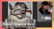 Enter the ZBHO Dojo: Viewer Critiques & NFTs Character Design – Spicer McLeroy – ZBrush 2021.6