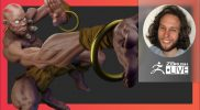 Digital Marathon: Street Fighter II Dhalsim Fan Art – Deryck Pelegrini – ZBrush 2021.6