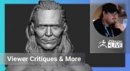 Enter the ZBHO Dojo: Viewer Critiques & More! – Spicer McLeroy – ZBrush 2021.6