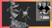 Netflix's Masters of the Universe: Revelation Orko Character Redesign – ZBrush 2021.6