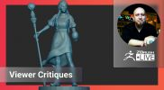 Critique Session – Submit Files for Review: http://zbru.sh/tsw – T.S. Wittelsbach – ZBrush 2021.6