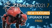 ZBrush 2021.7 – Available Now!  FREE Upgrade to Existing Users!