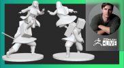 From Core to Pro with IR Sculpts: Demon Slayer Nezuko Fan Art – Ian Robinson – ZBrush 2021.7