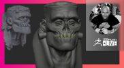 Sculpting with Andre Ferwerda: Halloween Frankenstein – ZBrush 2021.7