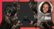 Digital Marathon: Dungeon Creature – Deryck Pelegrini – ZBrush 2021.7