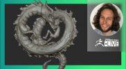 Digital Marathon: Dragon & Female Character Design – Deryck Pelegrini – ZBrush 2021.7