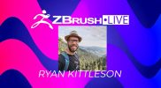 New ZBrushLIVE Resident Streamer Ryan Kittleson!  Let's All Welcome Him to the Stream Team on 9/13!