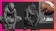 [UA & EN] Sadania ZBrushing – Sadan Vague – ZBrush 2021.7