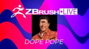 New ZBrushLIVE Resident Streamer DopePope! Let's All Welcome Him to the Stream Team on 9/17!