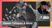 Enter the ZBHO Dojo: Viewer Critiques & More! – Spicer McLeroy – ZBrush 2021.7