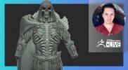 [ES-MX & EN] Netflix's Masters of the Universe: Revelation Skeletor Character Redesign – ZBrush 2021