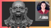 [ES-MX & EN] Creación de Criaturas & Personajes: Creepy Halloween Clown – Óscar Trejo – ZBrush