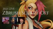 LIVE ZBrush Sculpt-Off – 2021